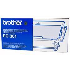 ORIGINAL BROTHER PC-301 FAX MACHINE PRINTING CARTRIDGE RIBBON CASSETTE / NEW