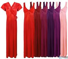 NEW LADIES LONG NIGHTDRESS NIGHTIE LOUNGER WOMENS NIGHTWEAR SET 8-14