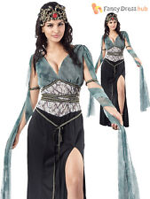 Ladies Medusa Costume Greek Roman Goddess Cleopatra Womens Size 12 14 16