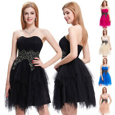 ❤Sweetheart❤Tulle & N/T taffeta Ball Evening Graduation NEW Prom Party Dress HOT