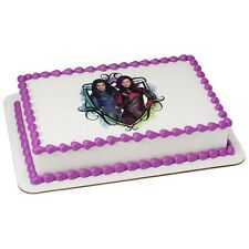 Descendants Birthday ~ Licensed Frosting Sheet Cake Topper Edible Image ~ D49088