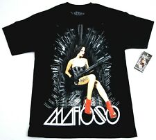 MAFIOSO THRONE T-shirt Tattoo Girl Guns Bullets Tee Streetwear Adult Mens M-4XL