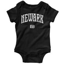 Newark 973 One Piece - New Jersey Devils Baby Infant Creeper Romper - NB to 24M