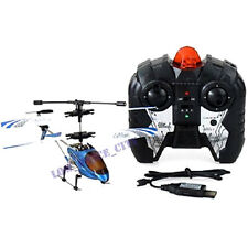 Mini Sky Lanneret 3.5CH Metal Frame Gyro Remote Control Helicopter blue/yellow