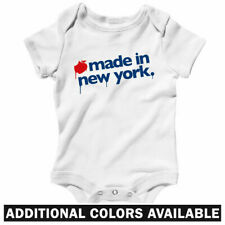 Made in New York One Piece - Brooklyn Bronx NY Baby Infant Creeper Romper NB-24M