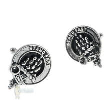 CLAN CREST CUFFLINKS - CHOICE 100+ SCOTTISH CLANS - NAMES P TO S & NATIONAL