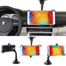 360 Rotating Car Windshield Holder Mount Stand For Samsung Galaxy S4 S5 S6 Edge+