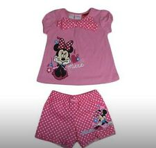 NEW Girls Minnie Mouse Summer Pyjamas Pjs Size 5  Licensed Product