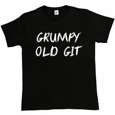 Grumpy Old Git Funny Father's Day Present Joke Gift Dad Mens T-Shirt