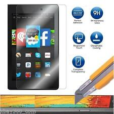 Tempered Glass Screen Protector for Amazon Kindle Fire HD 6 & 7 2014 +LED Stylus