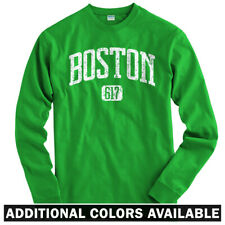 Boston 617 Long Sleeve T-shirt LS - Celtics Red Sox Bruins Mass US - Men / Youth