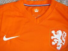 NWT Nike World Cup Netherlands National Team Home Stadium Jersey Orange Sz M+XL