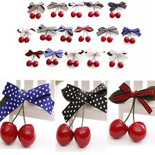 New Arrival Pretty Girls Sweet Cherry Hairpins Hairpin Clip New Hair Accessories