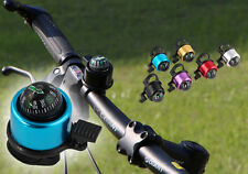 Multicolour Compass Metal Ring Handlebar Bell Sound for Bike Bicycle New DRUK