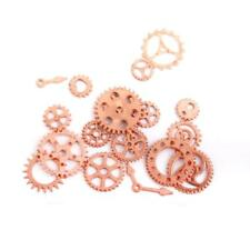 17/20pcs Gear Watch Part Charms Embellishment Steampunk Craft Jewelry Findings