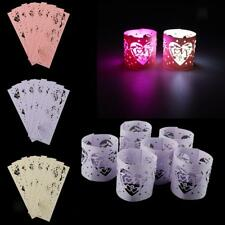 6pcs/Lot Tea Light Candle Holders for Vintage Wedding Table Decor Votive Holders