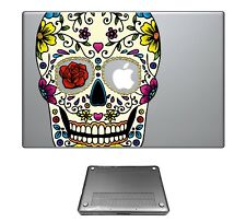 c223 Sugar Skull Fashion Case Cover For Macbook pro 13'' 15'/ Air 11'' 13''