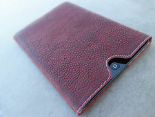 """Samsung Galaxy Tab 3 (10,1 """") Leather Pouch Case Cover Desired Engraving"""