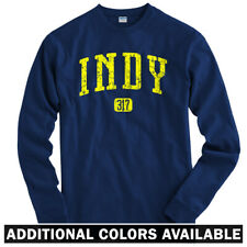 Indy 317 Indianapolis Long Sleeve T-shirt LS - Pacers 500 Colts IN - Men / Youth