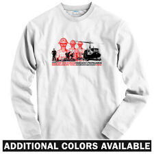 Extraction Squad Long Sleeve T-shirt LS - Tank Chopper Army Military Men / Youth