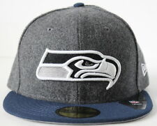NFL Seattle Seahawks New Era Shader Melt 59FIFTY Adult Fitted Hat - Gray/Navy