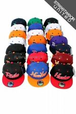 American City Teams Flat Peak Baseball Snapback Hip Hop Caps