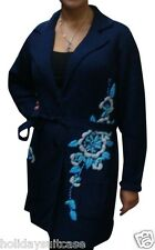 NEW LADIES WOMANS WINTER LONG CHRISTMAS CARDIGAN/DRESSING GOWN SIZE 14-20 UK