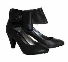 Ladies Womens Black Claudia Ghizzahi Court Casual Shoes Velcro Fastening