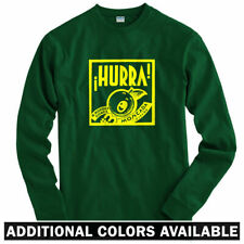 Hurra Long Sleeve T-shirt LS - Spain Spanish Vintage Sign Espana - Men / Youth