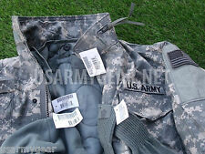 New Acu Military M65 Field Cold Weather Combo Coat Jacket + Liner + Cap + Gloves