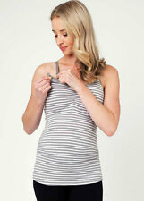 NEW - Ripe Maternity - Silver Striped Ultimate Feeding Tank - Maternity Tank