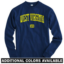West Virginia 304 Long Sleeve T-shirt LS - Charleston Mountaineers - Men / Youth