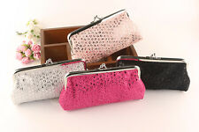 New Women Lovely Style Lady Wallet Hasp Sequins Purse Clutch Bag Fashion Handbag