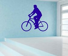 Wall Decal Cycling Cyclist Cycling Stickers Stickers Wall Portrait 5G012