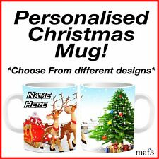 Personalised Xmas Gift Mug Secret Santa Stocking Fillerr Christmas Cup Present