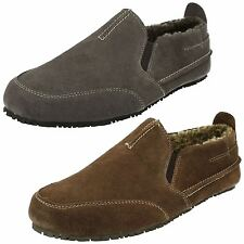 Mens Clarks Casual Closed Back Slippers Kite Laser