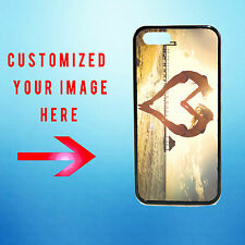 Personalized Photo Custom Apple iPhone 5/5S Your Image Rubber Hard Plastic Case