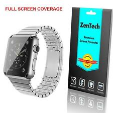 4X ZenTech Clear [FULL COVERAGE] Screen Protector Guard Apple Watch 38 & 42 mm