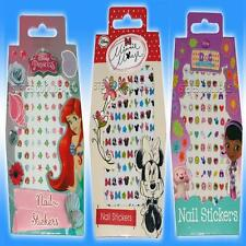 120 Nail Art Stickers Disney Minnie Mouse Frozen Princess Ariel Doc Mc Stuffins