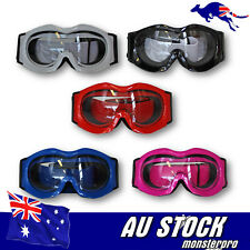 Clear Lens Kids Boys Girls SKI Snow sports GOGGLES Gloss Frame with Clear Lens
