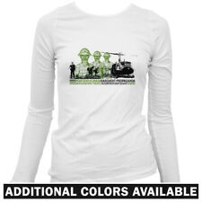 Extraction Squad Women's Long Sleeve T-shirt LS - Army Military Black Ops - S-2X