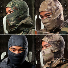 1PC Camouflage Army Cycling Motorcycle Cap Balaclava Hats Full Face Mask New
