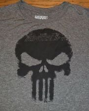 Punisher Logo Style Adult Mens Tee Officially Licensed Marvel Workout T-Shirt