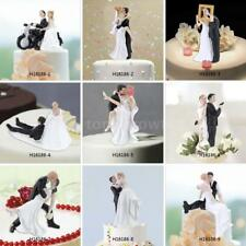 Traditional Vintage Bride and Groom Wedding Party Cake Topper Decoration G7A5