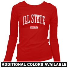 Ill State Represent Women's Long Sleeve T-shirt LS - Chicago Illinois UIC - S-2X