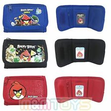 Angry Birds Space Wallet Kids Coin Purse Tri-Fold Bag Girls Licensed (1pc)
