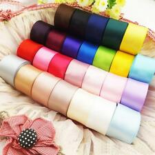 24 Pcs satin ribbon wedding craft sewing decorations many color 40mm wide
