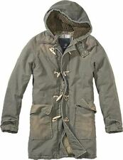 BRANDIT MENS WOODSON PARKA WARM WINTER MILITARY COAT HOODED OUTDOOR JACKET