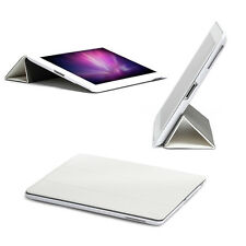 New Smart Stand Magnetic Leather Case Cover For Apple iPad 4 3 2 Mini 3/2 White