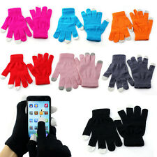 Outdoor Touch Screen Gloves Texting Winter Knit for Smartphone iphone I9300
